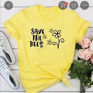 Tops - Save the Bees Graphic T-shirt